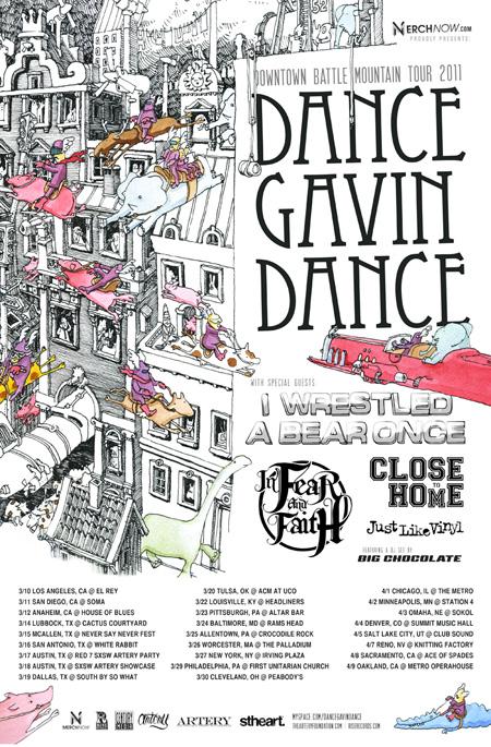 Dance Gavin Dance inform