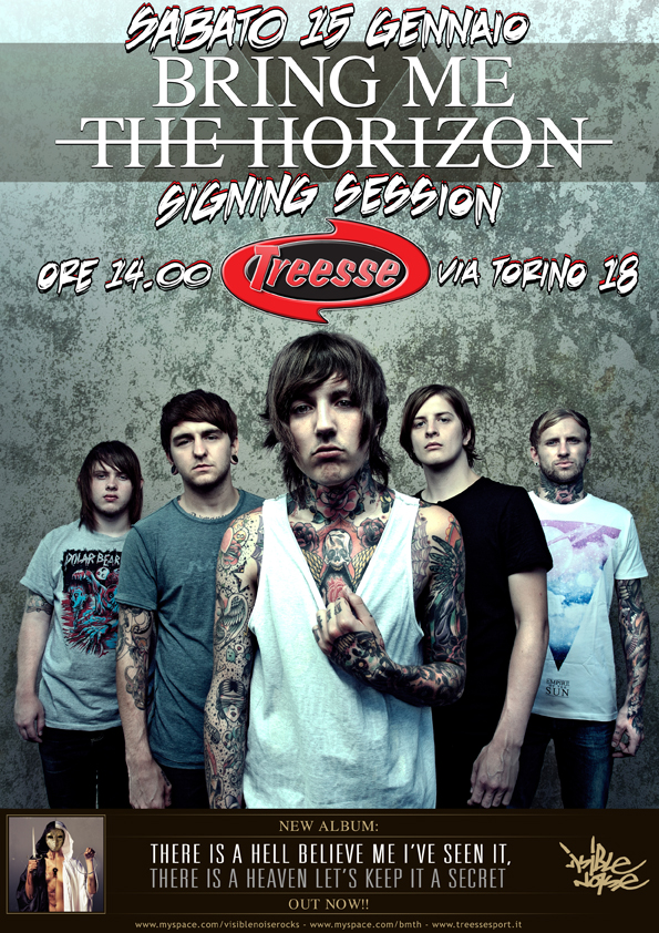 Bring Me The Horizon: signing session da Treesse!