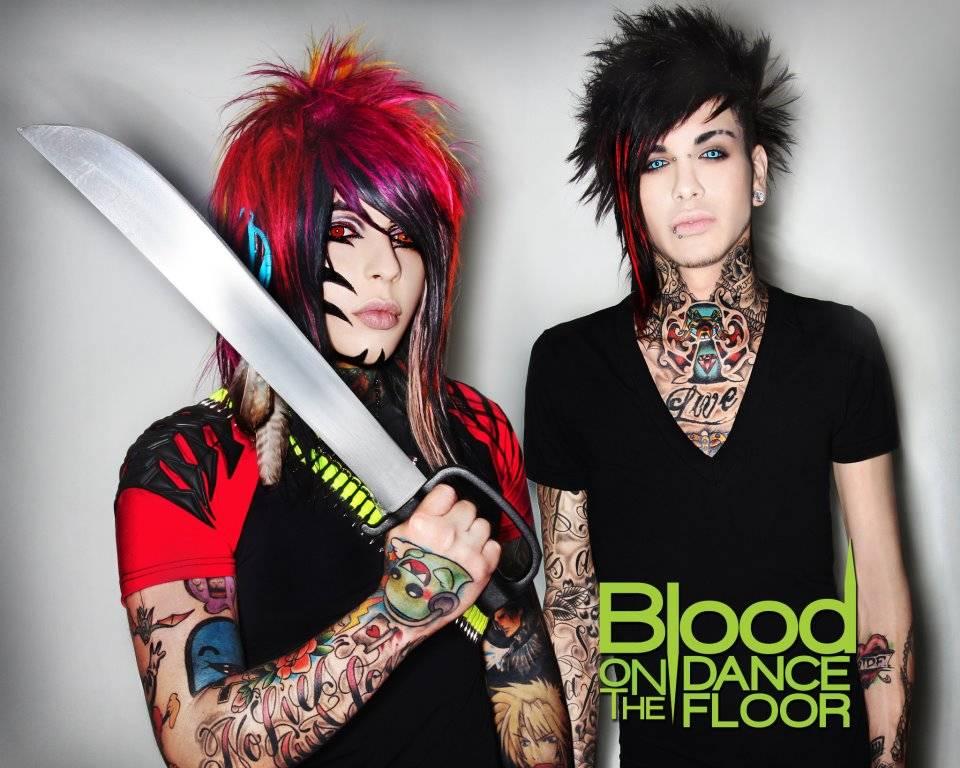 blood on the dancefloor all the rage