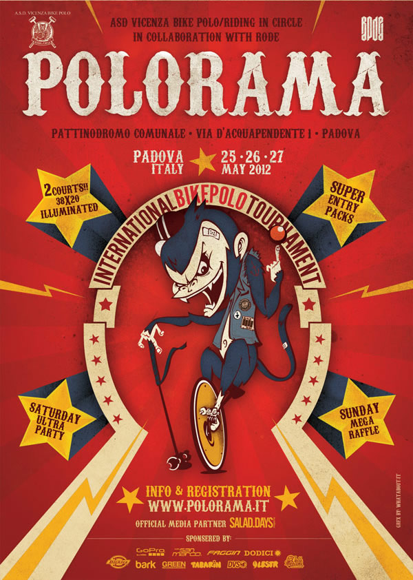 POLORAMA…the biggest international Bikepolo meeting in Italy