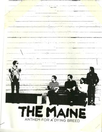 The Maine – 'Anthem for a Dying Breed' out! – Artwork unvelied last minute by the band!