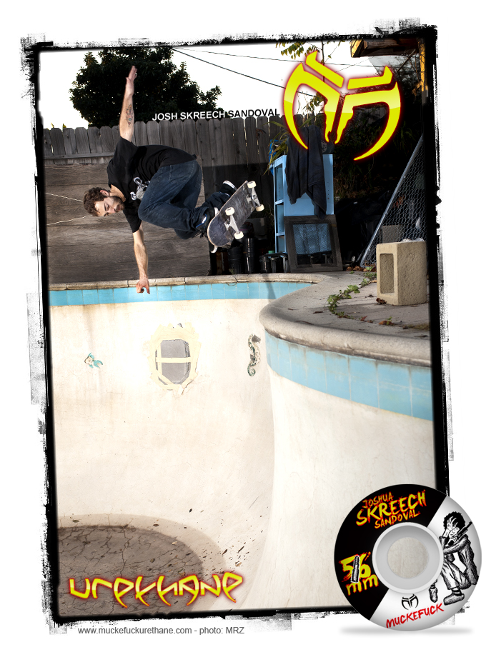 "Stoked to welcome Josh ""Skreech"" Sandoval to the team!"