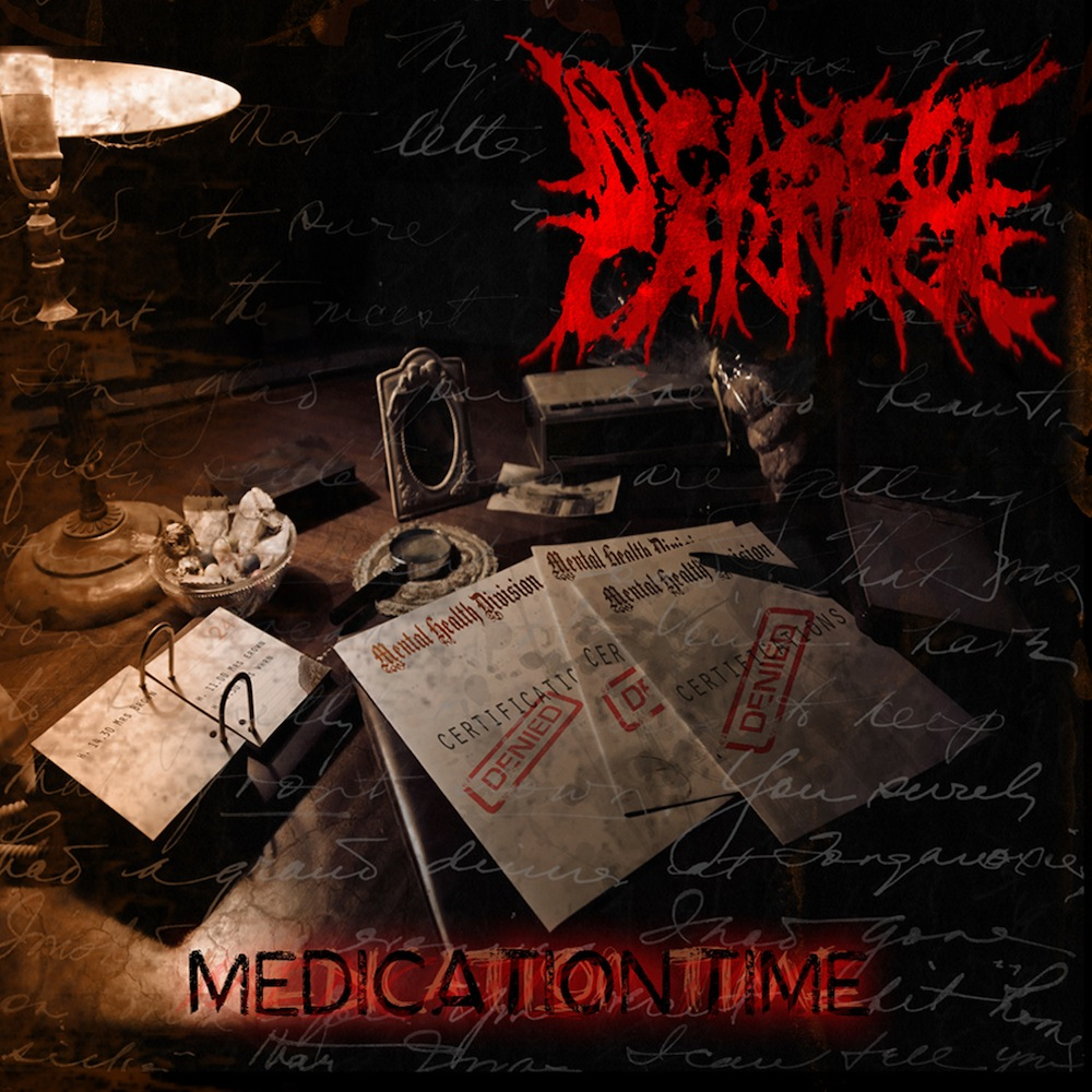 'Medication Time' debut ep by In Case of Carnage out now!