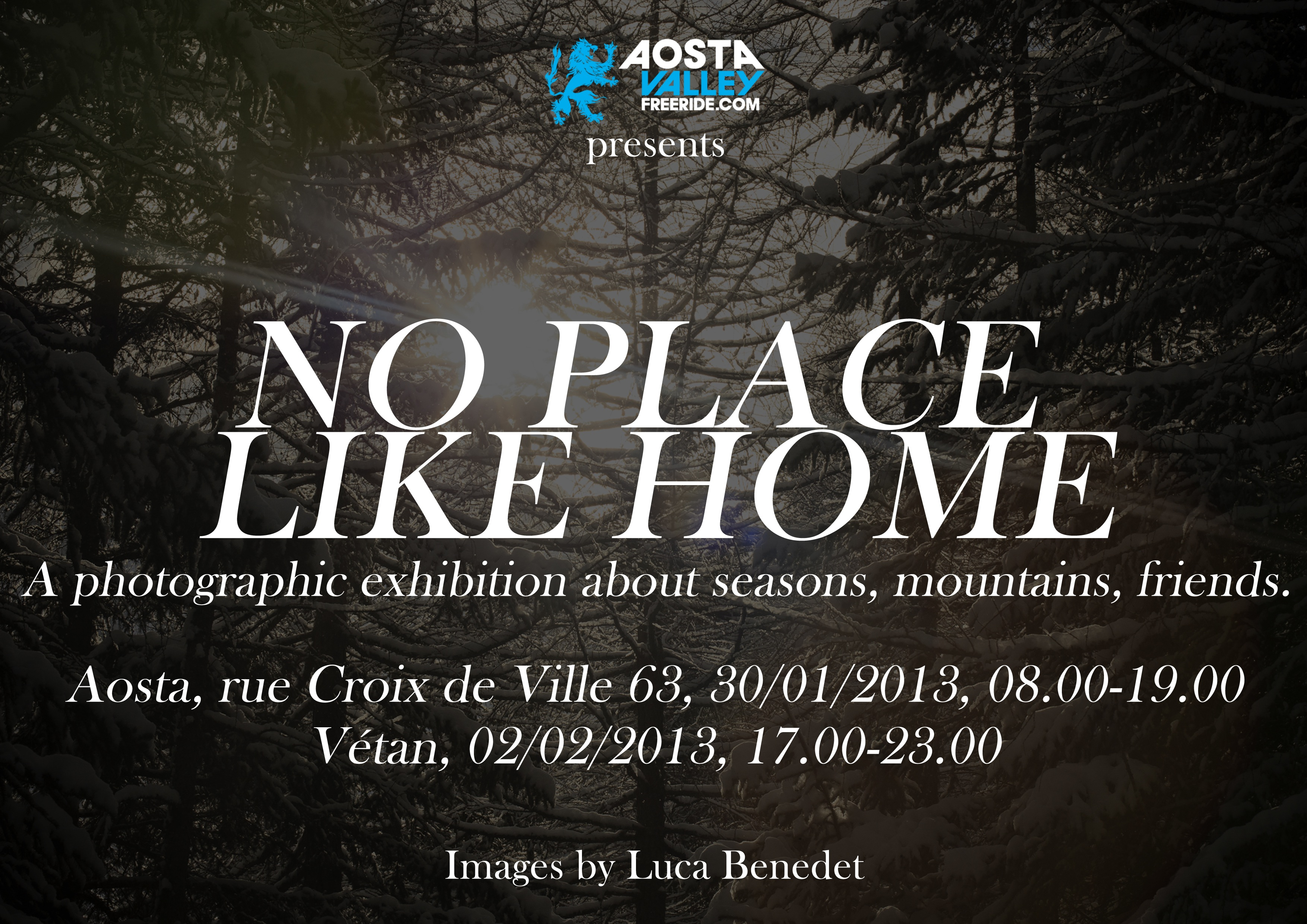 AostaValleyFreeride presents No Place Like Home