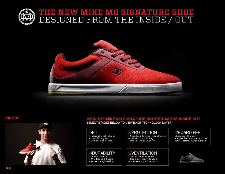 DC Shoes: Mike Mo signature model