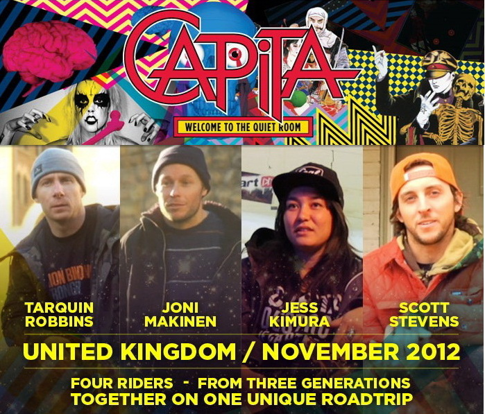 CAPiTA Snowboard UK Tour