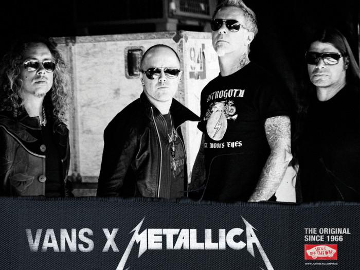 Vans x Metallica: nei negozi le scarpe firmate dai quattro componenti del gruppo