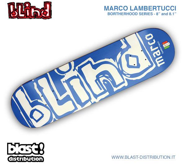 Marco Lambertucci x Blind