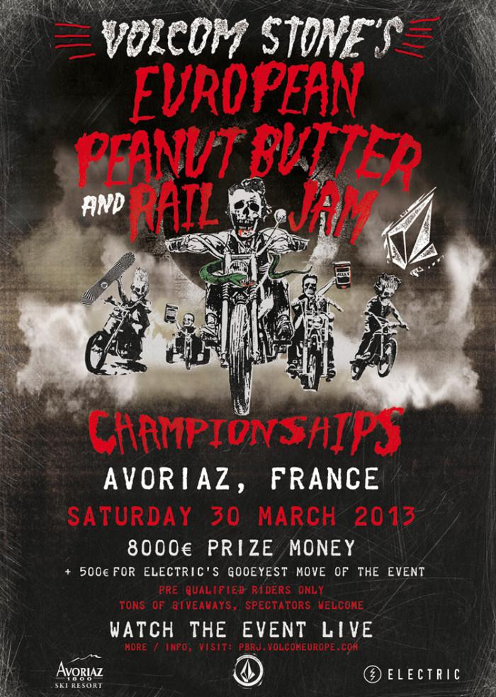 Volcom 2013 European Peanut Butter and Rail Jam Championships