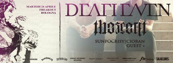 Deafheaven + The Secret 24 Aprile @ Freakout Club Bologna