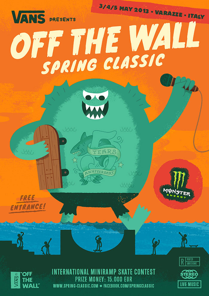 Vans Off The Wall Spring Classic – 5th Anniversary Edition