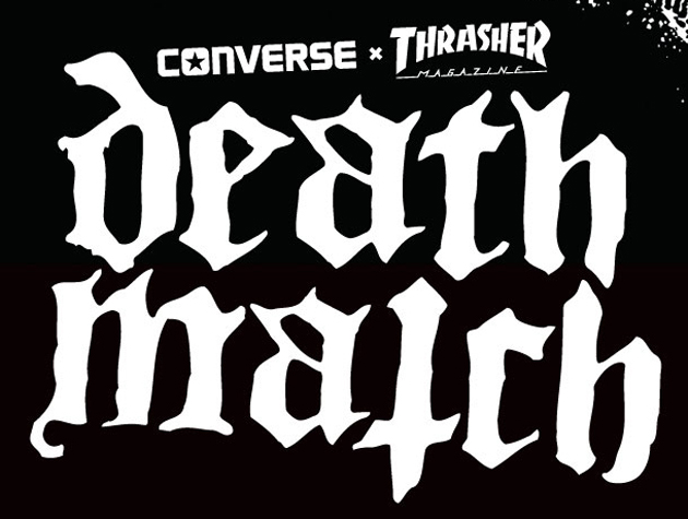 Evergreen Terrace sign with Rise Records and Thrasher Death Match in Austin