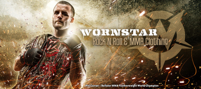 Wornstar Rock & Roll Clothing Company steps into MMA arena