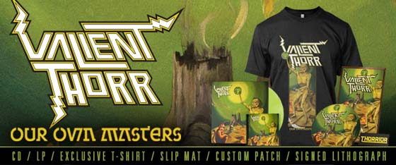 Valient Thorr 'Our Own Masters' Pre-Order and Trailer