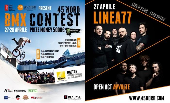 Terza edizione del 45° Nord BMX contest
