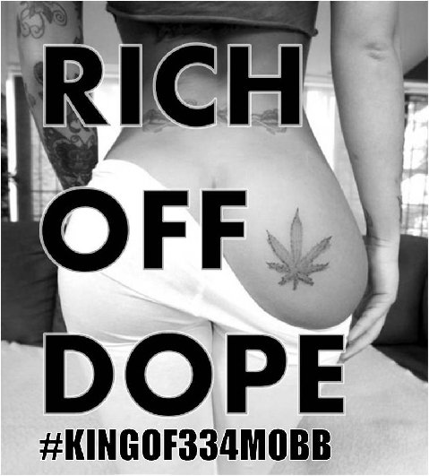 King (of 334 Mobb) 'Rich Off Dope'