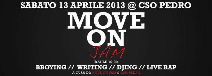 Move On Jam @ Pedro / Padova