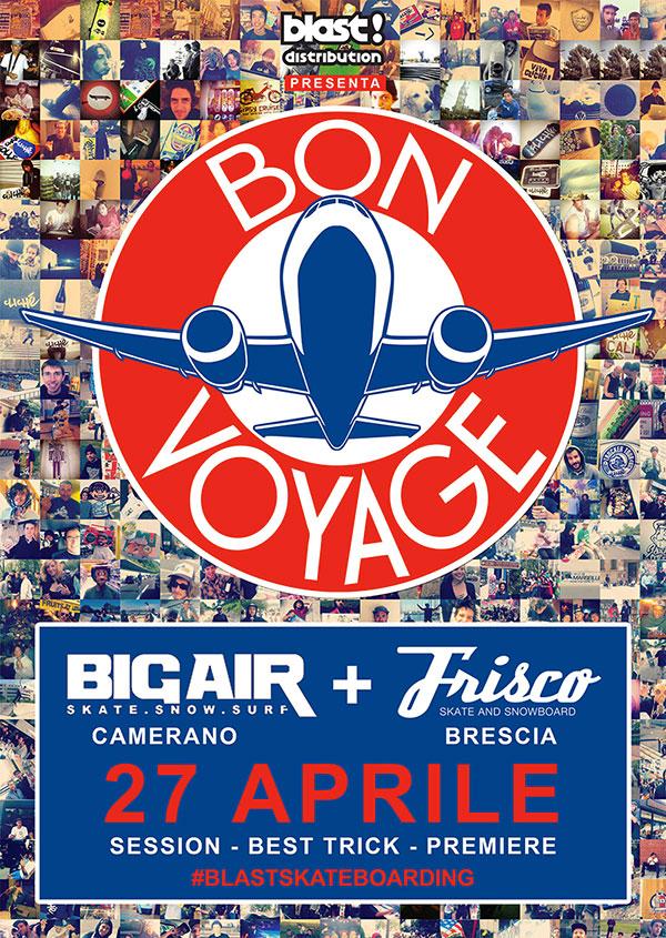 Clichè 'Bon Voyage' – le premiere italiane