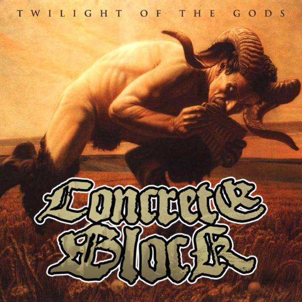 Concrete Block 'Twilight Of The Gods'