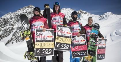 Simon Gruber, Christof Schenk, Daniel Tschurtschenthaler, Max Vieider - Winners
