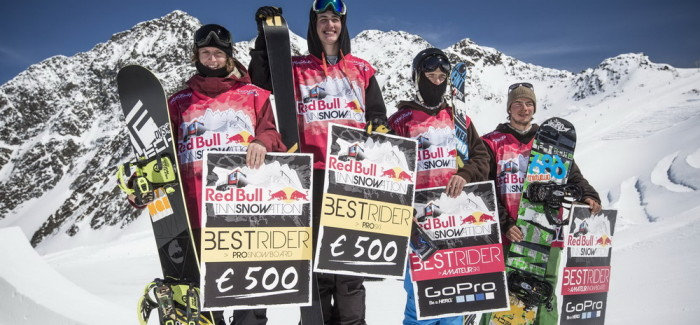Red Bull Innsnowation: Il team di Val Senales stravince!