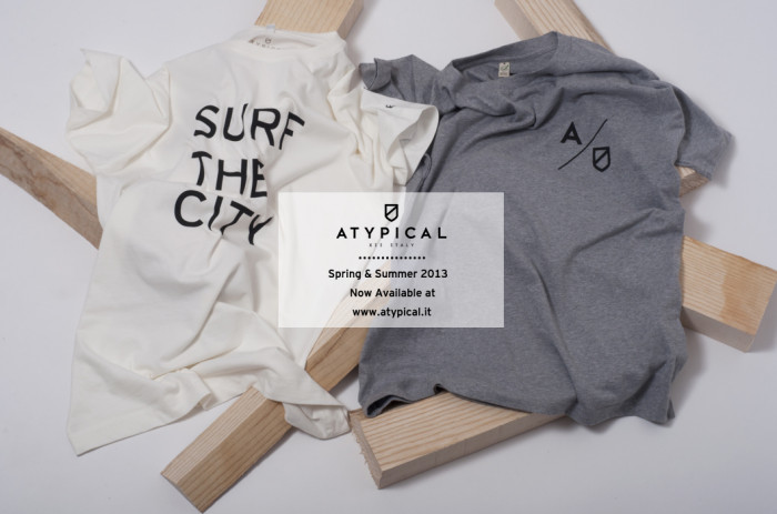 Atypical presents Spring/Summer 2013 Apparel