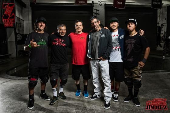 Jimmy'z presenta lo Z-Team ufficiale