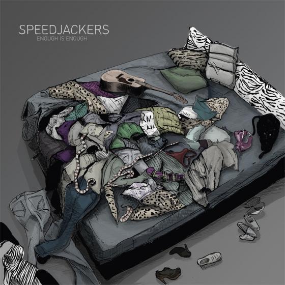 'Enough Is Enough' – il terzo album degli Speedjackers in vinile con CD allegato