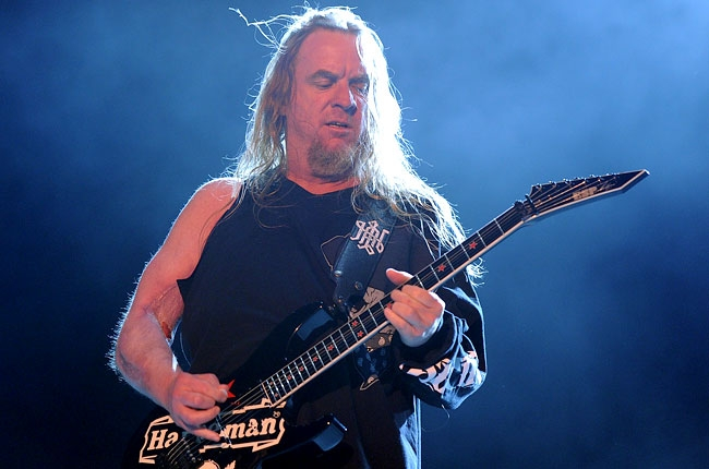 Slayer Jeff Hanneman dies at 49