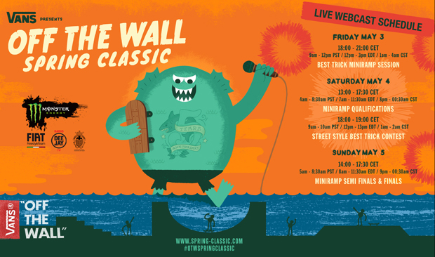 Vans Off The Wall Spring Classic – Varazze – Live Webcast