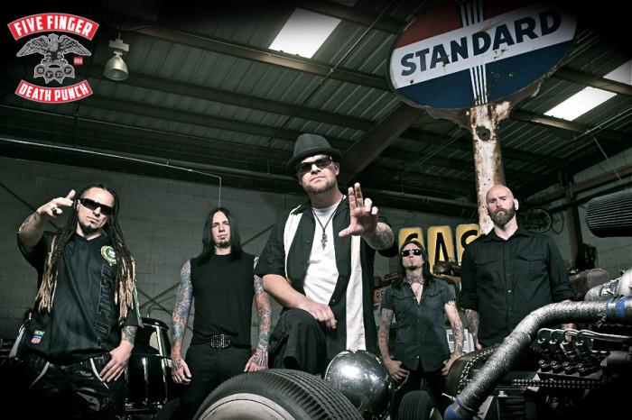 Five Finger Death Punch – nuova data di uscita per il nuovo album
