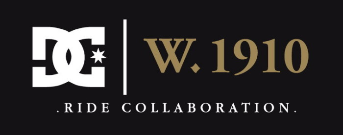 DC | W.1910 ride collaboration x DC Shoes latest Double Label Project