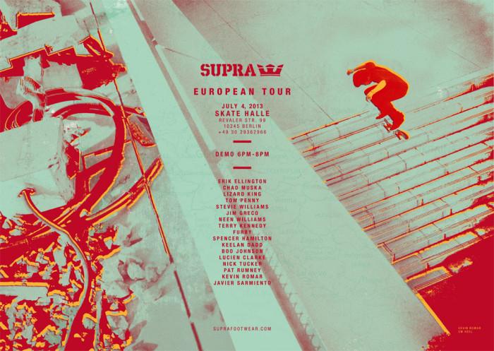 Supra Demo + Chad Muska DJ Set + Betonhausen Relentless Cash 4 Tricks