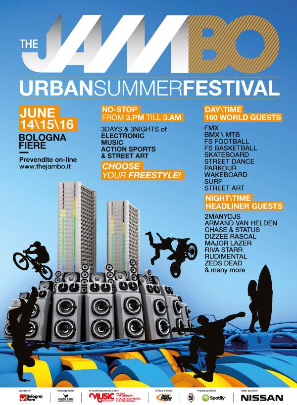 The JamBO – Surf Pink Contest sabato 15 giugno a BolognaFiere