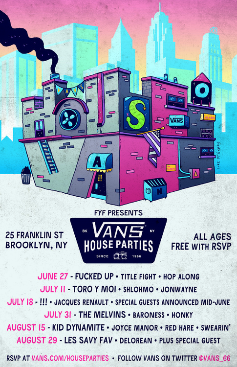 Vans House of Party – Brooklyn NYC