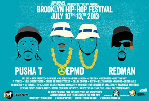 2013 Brooklyn Hip-Hop Festival returns this weekend with Pusha T