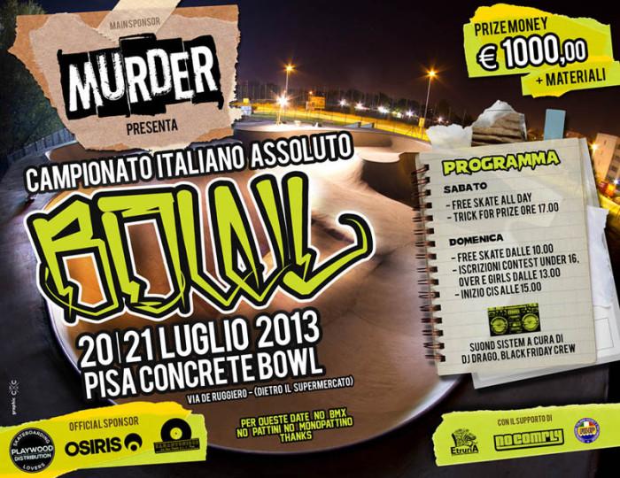 CIS Bowl – 20/21 Luglio – Pisa
