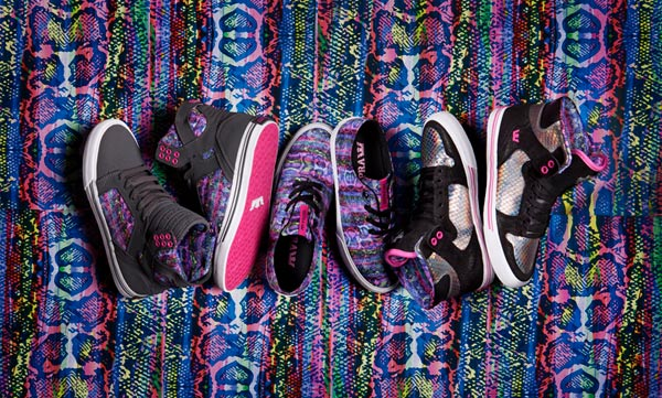 Supra presents The Maurizio Molin women's footwear collection
