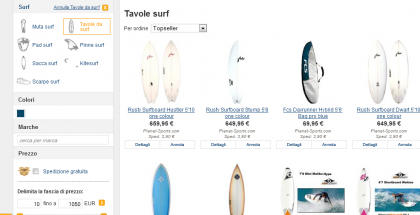 Tavola surf ShopAlike.it