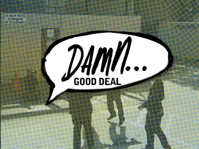 Blind Damn Good Deal!