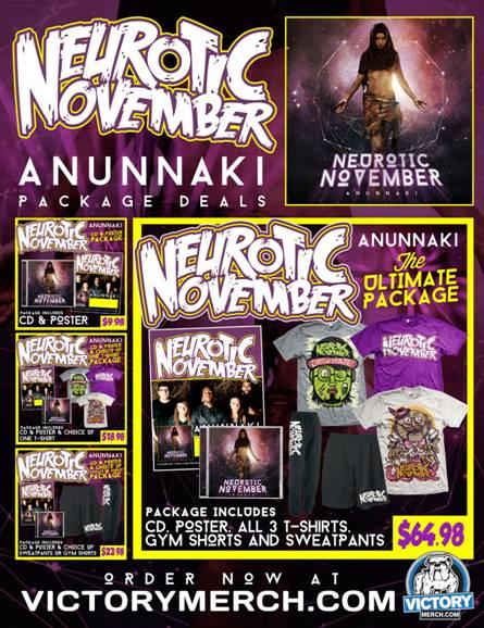 Neurotic November release 'Anunnaki'