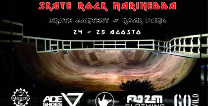 Locandina Skate Rock Marinedda