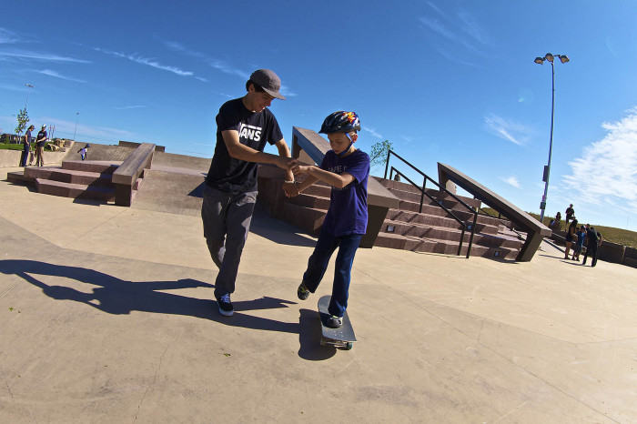 Vans Downtown Showdown presents the 'Autism Friendly Skate Session' with A.skate Foundation