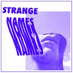 Strange Names announce new EP