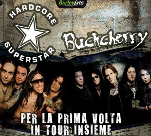 Hardcore Superstar + Buckcherry: a novembre a Bologna!