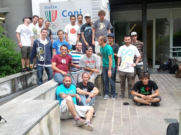Corso Istruttori Skateboard & Istruttori Giovanili – Novembre 2013
