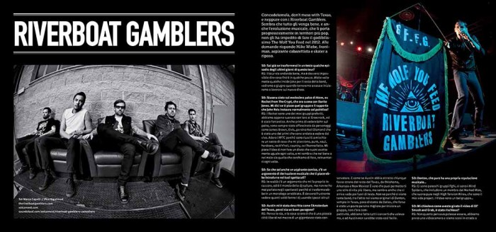 Riverboat Gamblers 'Heart Conditions' new video