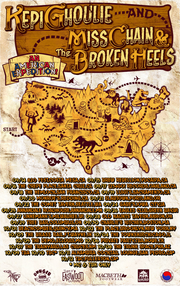 Miss Chain and the Broken Heels: an American expedition with Kepi Ghoulie
