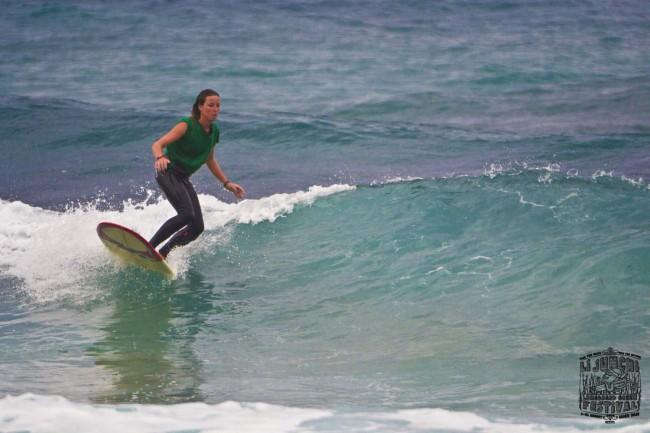 2 Li Junchi Longboard GREEN Festival 2013 Badesi surf skate longskate