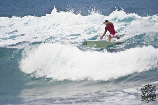 3 Li Junchi Longboard GREEN Festival 2013 Badesi surf skate longskate